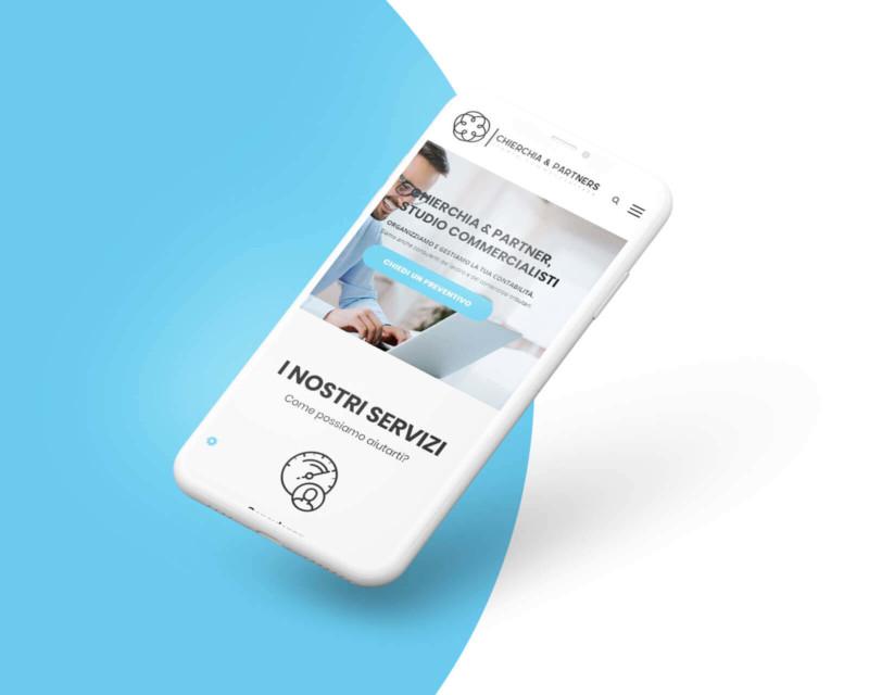 Chierchia & Partners - Sito Web